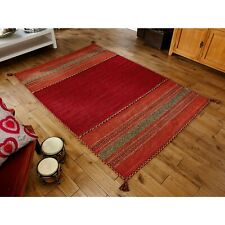 SMALL - LARGE KELIM KILIM ETHNIC NATIVE ORIENTAL WOVEN COTTON & CHENILLE RUGS