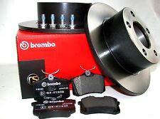 Brembo Bremsscheiben + Bremsbeläge VW Passat 3B 3BG hinten HA Bremsensatz