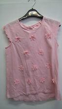 BNWT Pink Flower Tshirt from Tu Size 12 years