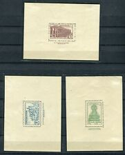 SPAIN WAR 1937/39 lot label of souv. sheet . stamps hinged
