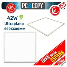 R1079 Panel LED 42W 60x60 Ultraplano Luz Blanca 600X600mm Empotrable Slim Falso