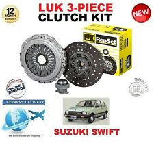 FOR SUZUKI SWIFT AA 1.3 HATCH 73 BHP 1984-1989 ORIGINAL LUK 3PIECE CLUTCH KIT