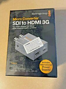 Blackmagic Design Micro Converter - SDI to HDMI 3G **New in box
