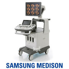 4D Medison Accuvix XG Ultrasound - Samsung System Machine with 4D/3D Convex