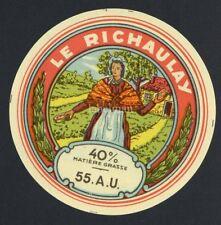 Original European Cheese Label, Le Richaulay, 205