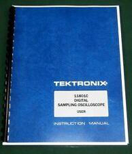 Tektronix 11801c User Manual Comb Bound Amp Protective Covers