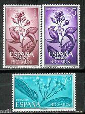 RIO MUNI Edifil # 42/44 **  Flores / flowers