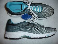 Asics Women Athletic Shoe Size 10 Gel Speed star New Black Teal Running Shoes