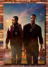 Bad Boys for Life 2020 Movie Poster 40 24x36 32x48 Custom Print D-462
