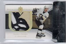 2005/06 UD ULTIMATE PREMIUM GAME-USED PATCHE 13/35 SIDNEY CROSBY ROOKIE BGS 9