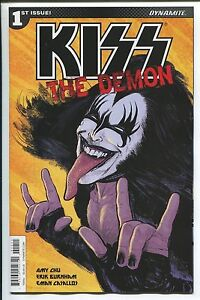 KISS: THE DEMON #1 - KYLE STRAHM COVER A - DYNAMITE ENTERTAINMENT/2017