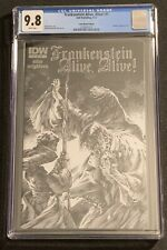 Frankenstein Alive Alive! #1 CGC 9.8 White COMIC MARKET Edition Bernie Wrightson