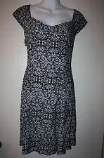 Crossroads Blue Summer Dress Sz 14