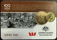 Limited Edition 25 Cent UNC Coin Rare 2016 Australia ANZAC Collectable UNC Coin