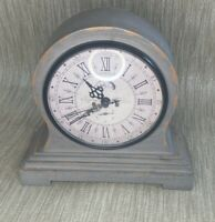 STONE HOUSE LEEDS Wooden Mantel Clock ( Fully Working ) ( N )