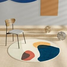 Short Plush Round Carpets Room Round Fluffy Rug Soft  Carpet Floor Mat Area Rugs