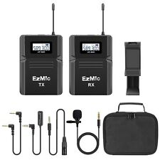 UHF Wireless Lavalier Microphone for DSLR Canon Nikon Sony Smartphone iPhone