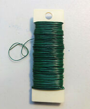 Panacea Paddle Wire Green 1/4 lbs Floral Design Weddings Crafts Bows 24 Gauge