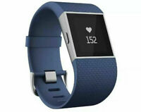 FITBIT surge fitness GPS heart rate monitor super watch smart watch blue