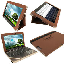 Brown Leather Case for Asus Transformer Pad TF700 700T Infinity Cover Keyboard