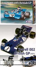1/20 EBBRO TYRRELL 002 STEWART CEVERT with DFV COSWORTH 1971 F1 BRITISH GP