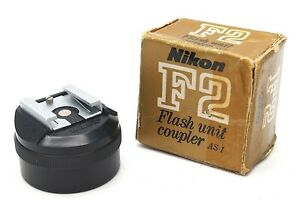Genuine Nikon F2 Flash Coupler AS-1 (Boxed) - UK Dealer