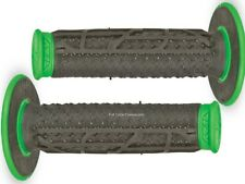Fly Racing Pilot II MX Grips Green/Black KDX,KX 80,125,200,250,500 KX250F,KX450F