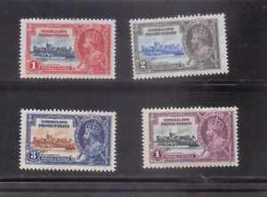 Somaliland Protectorat 1935 Silver Jubilee set mounted mint