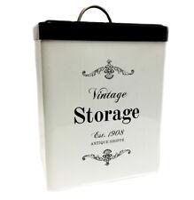 New listing Antique Shoppe Medium Storage Canister