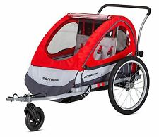 Schwinn Trailblazer Double Bike Trailer, Red
