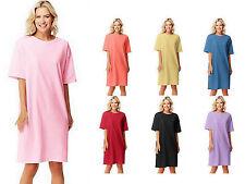 Hanes Womens Wear Around Nightshirt Lavender One Size b059804a8607