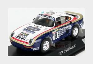 Porsche 959 #186 Rally Paris Dakar 1985 Metge Lemoine SPARK 1:43 WAP0209590NRLL