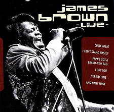 "JAMES BROWN ""Live"" 13 Track Collection CD Fox Music 2001 Neu & OVP"