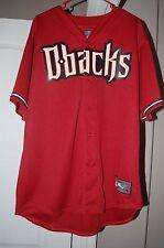 Arizona Diamondbacks MLB Dbacks Majestic Jersey XL New