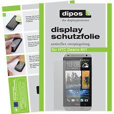 HTC Desire 601 Schutzfolie matt Displayschutzfolie Folie dipos Displayfolie