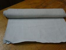 A Homespun Linen Hemp/Flax Yardage 4 Yards x 20'' Plain  # 8345