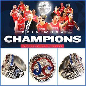 Washington Mystics 2019 Championship Ring Size 10