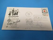 First Day Cover, Golden Jubilee, Camp Fire Girls, 1910-1960, 1960, FDC