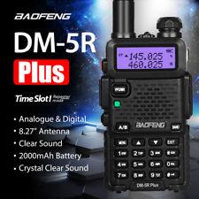 Baofeng DM-5R *Plus* V/UHF Walkie Talkie Antenna Handeld Scanner Police Fire EMS