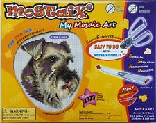 Mostaix Red Series Schnauzer Mosaic Craft Kit