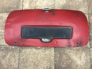 Classic mini boot lid.