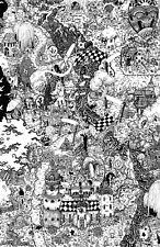 Alice in Wonderland Disney Movie Digital Art Poster Print T1270 |A4 A3 A2 A1 A0|