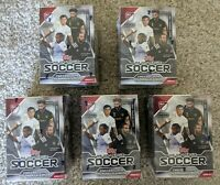 (Lot of 5) 2021 Topps Major League Soccer MLS Blaster Boxes Brand New Sealed