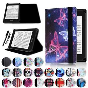 Leather Stand Flip Cover Case For Amazon Kindle 4/5//7/8/9 Paperwhite 1/2/3/4