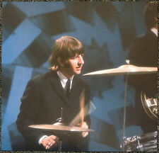 THE BEATLES POSTER PAGE .1966 RINGO FILMING TOP OF THE POPS . J41