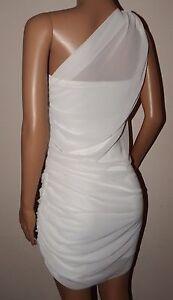 VICKY MARTIN 2 DRESSES white ivory sheer dress & bodycon mini BNWT 8 10 WEDDING
