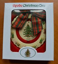 Spode Christmas Tree  Wreath Ornament  2000