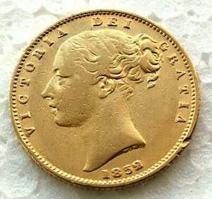1852   shield  full sovereign  # 02812