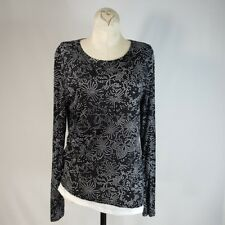 Kenneth Cole New York Top Size M/Medium Womens Asymmetrical Long Sleeve Knit