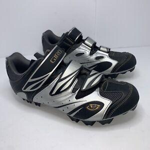GiroRiela Grey/Black Mountain Bike Cycling Spin Shoes Women's Size 8.5